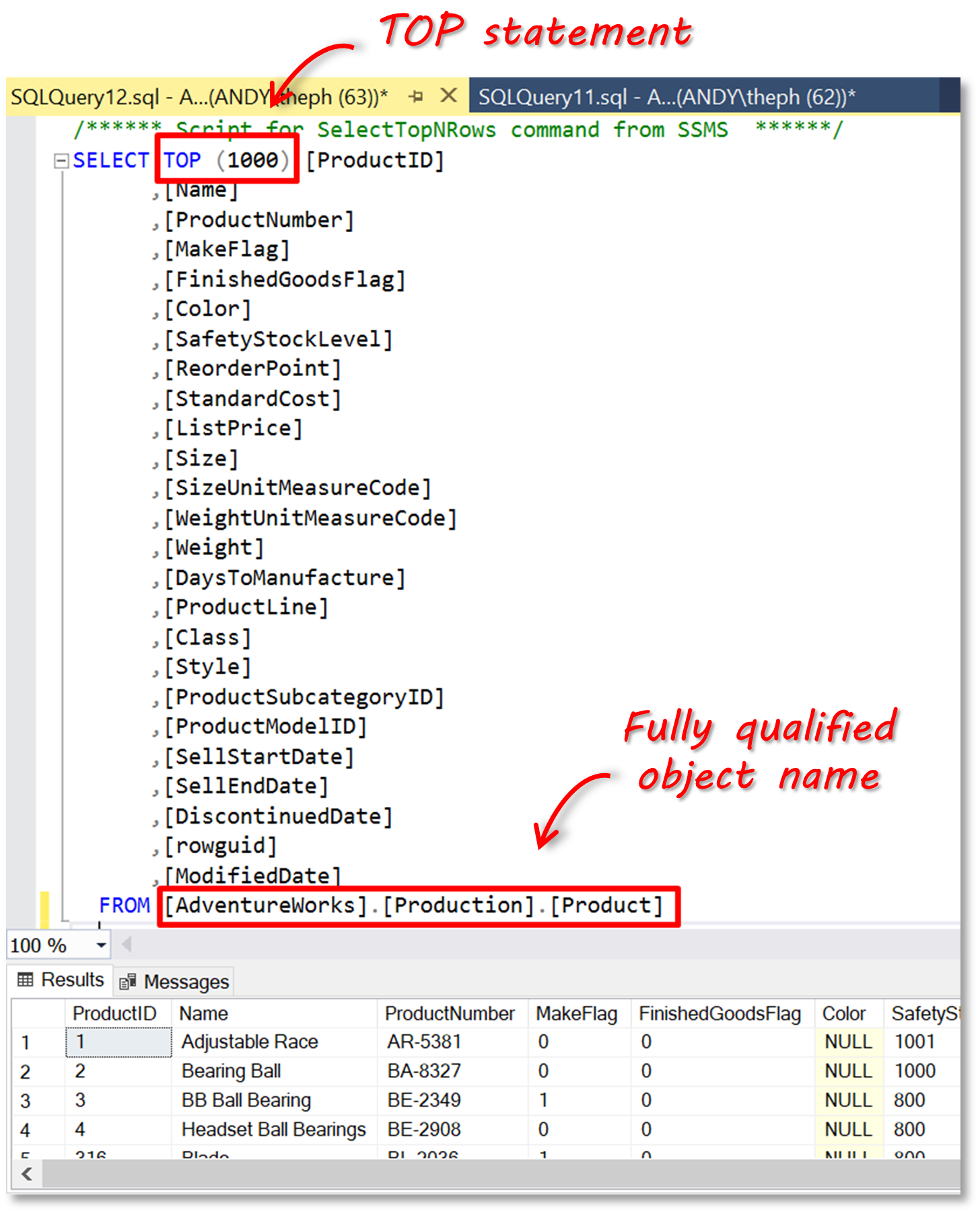 SQL_select_top_1000_results